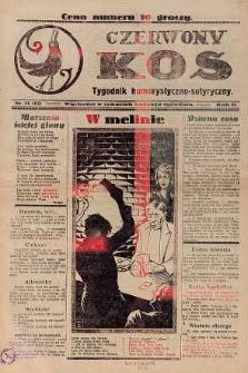 Czerwony Kos : gwiżdże co sobotę i wygwizduje wszystko 1932 nr 11