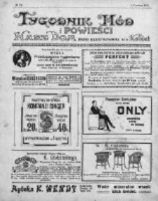 Tygodnik Mód i Powieści. Pismo ilustrowane dla kobiet 1912, Nr 22