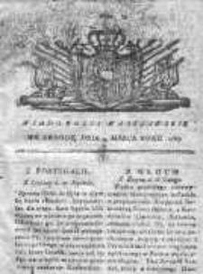 Wiadomości Warszawskie 1767, Nr 18