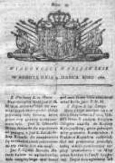 Wiadomości Warszawskie 1767, Nr 23