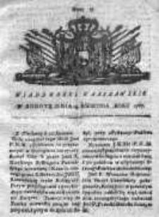 Wiadomości Warszawskie 1767, Nr 31