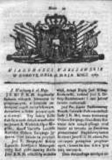 Wiadomości Warszawskie 1767, Nr 39