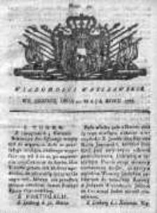 Wiadomości Warszawskie 1767, Nr 40