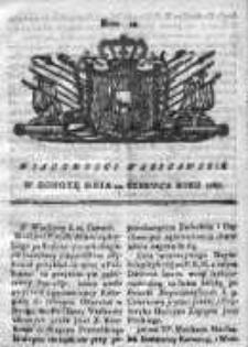 Wiadomości Warszawskie 1767, Nr 49