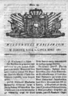 Wiadomości Warszawskie 1767, Nr 55