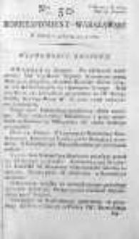 Korespondent Warszawski Donoszący Wiadomości Krajowe i Zagraniczne 1792, I, Nr 50