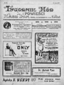 Tygodnik Mód i Powieści. Pismo ilustrowane dla kobiet 1912, Nr 28