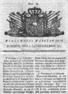 Wiadomości Warszawskie 1767, Nr 93