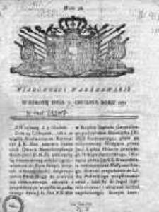 Wiadomości Warszawskie 1771, Nr 98