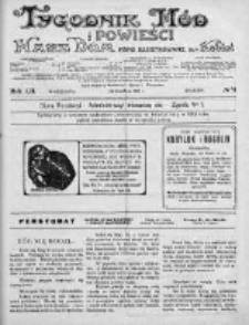 Tygodnik Mód i Powieści. Pismo ilustrowane dla kobiet 1912, Nr 51