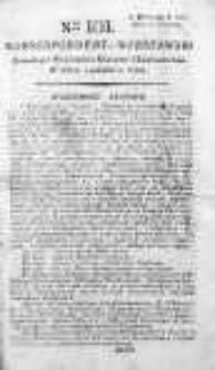 Korespondent Warszawski Donoszący Wiadomości Krajowe i Zagraniczne 1792, II, Nr 101