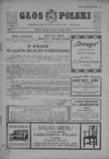 Głos Polski. Tygodnik polityczny, społeczny i literacki, 1907, R. 1, Nr 4