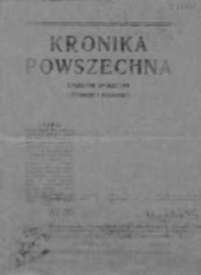 Kronika Powszechna.Tygodnik społeczny literacki i naukowy, 1911, R.2, Nr 3