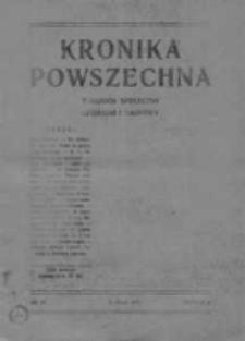 Kronika Powszechna.Tygodnik społeczny literacki i naukowy, 1911, R.2, Nr 19