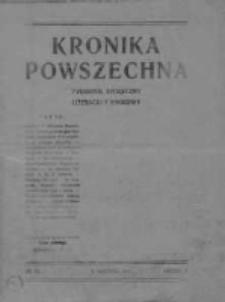 Kronika Powszechna.Tygodnik społeczny literacki i naukowy, 1911, R.2, Nr 36