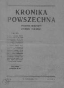 Kronika Powszechna.Tygodnik społeczny literacki i naukowy, 1911, R.2, Nr 44