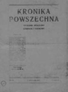 Kronika Powszechna.Tygodnik społeczny literacki i naukowy, 1911, R.2, Nr 45