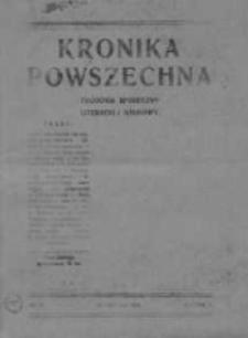 Kronika Powszechna.Tygodnik społeczny literacki i naukowy, 1911, R.2, Nr 51