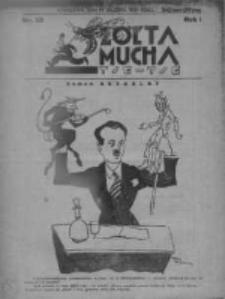 Żółta Mucha Tse-Tse 1929, R.1, Nr 38
