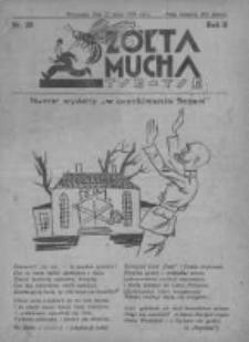 Żółta Mucha Tse-Tse 1930, R.2, Nr 28