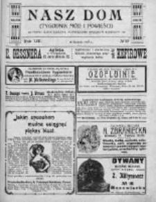 Nasz Dom (Tygodnik Mód i Powieści) 1913, Nr 33