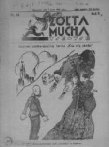 Żółta Mucha Tse-Tse 1930, R.2, Nr 34