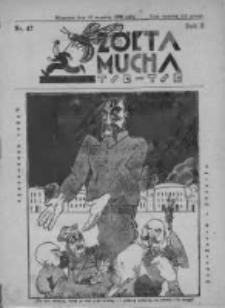 Żółta Mucha Tse-Tse 1930, R.2, Nr 47