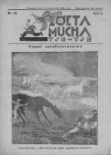 Żółta Mucha Tse-Tse 1930, R.2, Nr 52