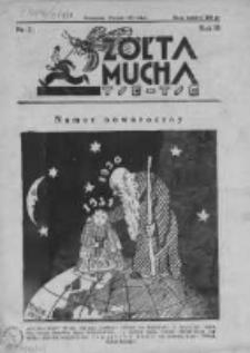 Żółta Mucha Tse-Tse 1931, R.3, Nr 1