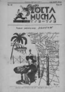 Żółta Mucha Tse-Tse 1931, R.3, Nr 15