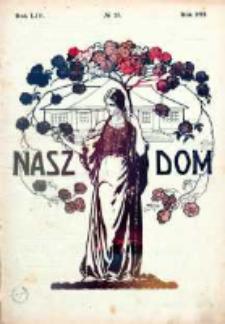 Nasz Dom (Tygodnik Mód i Powieści) 1914, Nr 25