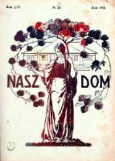 Nasz Dom (Tygodnik Mód i Powieści) 1914, Nr 28