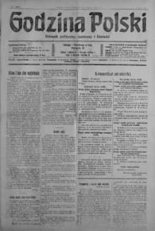 Godzina Polski : dziennik polityczny, społeczny i literacki 30 lipiec 1917 nr 206