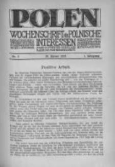 Polen. Wochenschrift für polnische Interessen. 1915, Jg. 1, Bd. I, Nr 5