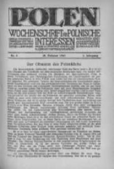 Polen. Wochenschrift für polnische Interessen. 1915, Jg. 1, Bd. I, Nr 8