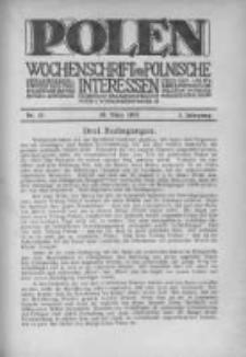 Polen. Wochenschrift für polnische Interessen. 1915, Jg. 1, Bd. I, Nr 12