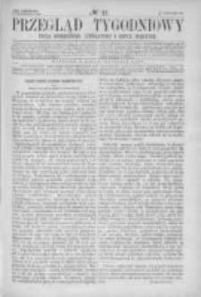 Przegląd Tygodniowy Życia Społecznego Literatury i Sztuk Pięknych 1866, R.I, Nr 42