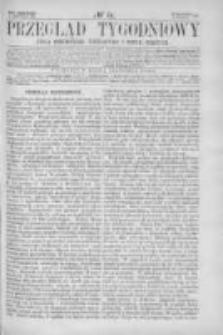 Przegląd Tygodniowy Życia Społecznego Literatury i Sztuk Pięknych 1866, R.I, Nr 44