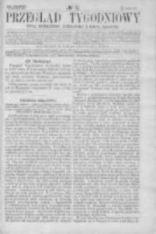 Przegląd Tygodniowy Życia Społecznego Literatury i Sztuk Pięknych 1866, R.I, Nr 51