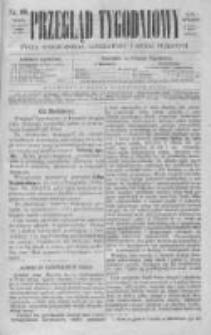 Przegląd Tygodniowy Życia Społecznego Literatury i Sztuk Pięknych 1869, R.IV, Nr 10