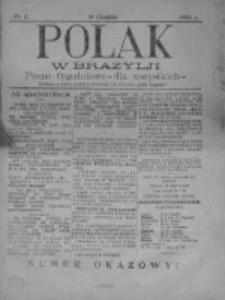 Polak w Brazylji 1904, Nr 2