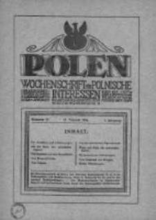 Polen. Wochenschrift für polnische Interessen. 1916, Jg. 2, Bd. V, Nr 59