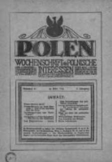 Polen. Wochenschrift für polnische Interessen. 1916, Jg. 2, Bd. V, Nr 63