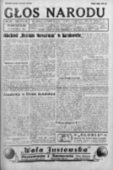 Głos Narodu 1931, Nr 145