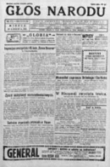 Głos Narodu 1931, Nr 172