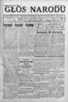 Głos Narodu 1931, Nr 180