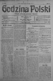 Godzina Polski : dziennik polityczny, społeczny i literacki 6 sierpień 1917 nr 213