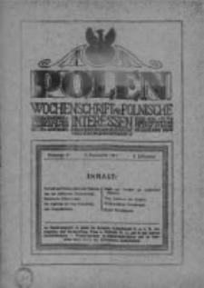Polen. Wochenschrift für polnische Interessen. 1916, Jg. 2, Bd. VIII, Nr 97