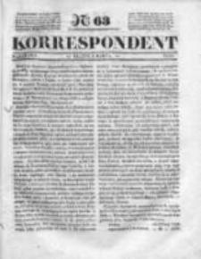 Korespondent, 1835, I, Nr 63