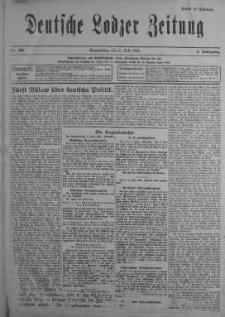Deutsche Lodzer Zeitung 6 lipiec 1916 nr 185